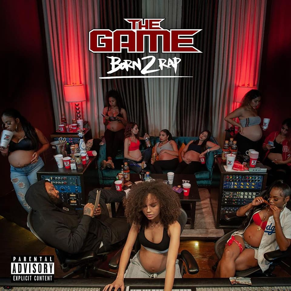 Jaquette de l'album The Game Born2Rap