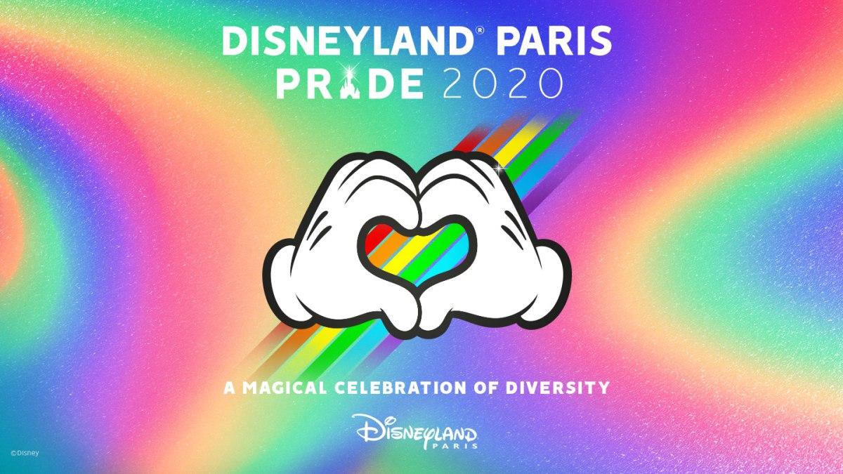 Disneyland Paris Pride 2020