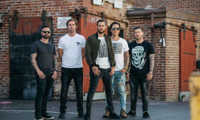 Le groupe Avenged Sevenfold début 2020