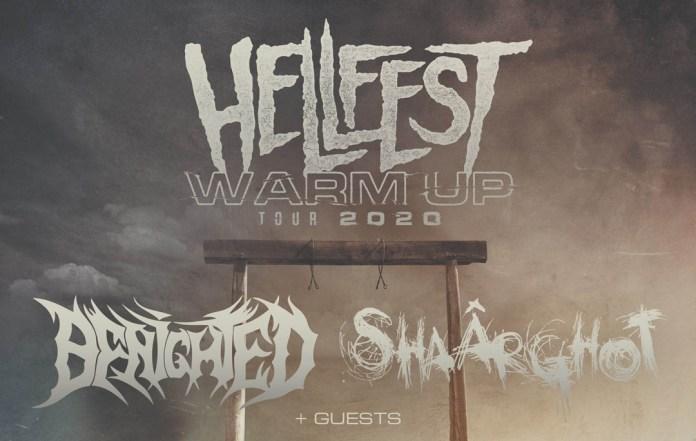 Bannière Hellfest Warm-Up Tour 2020