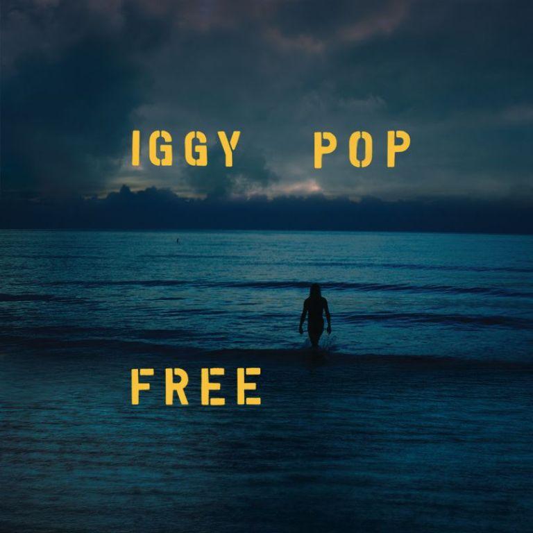 Iggy Pop en tournée - Jaquette de l'album Free