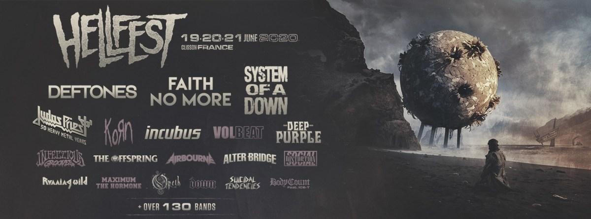 Line-up 2020 du Hellfest