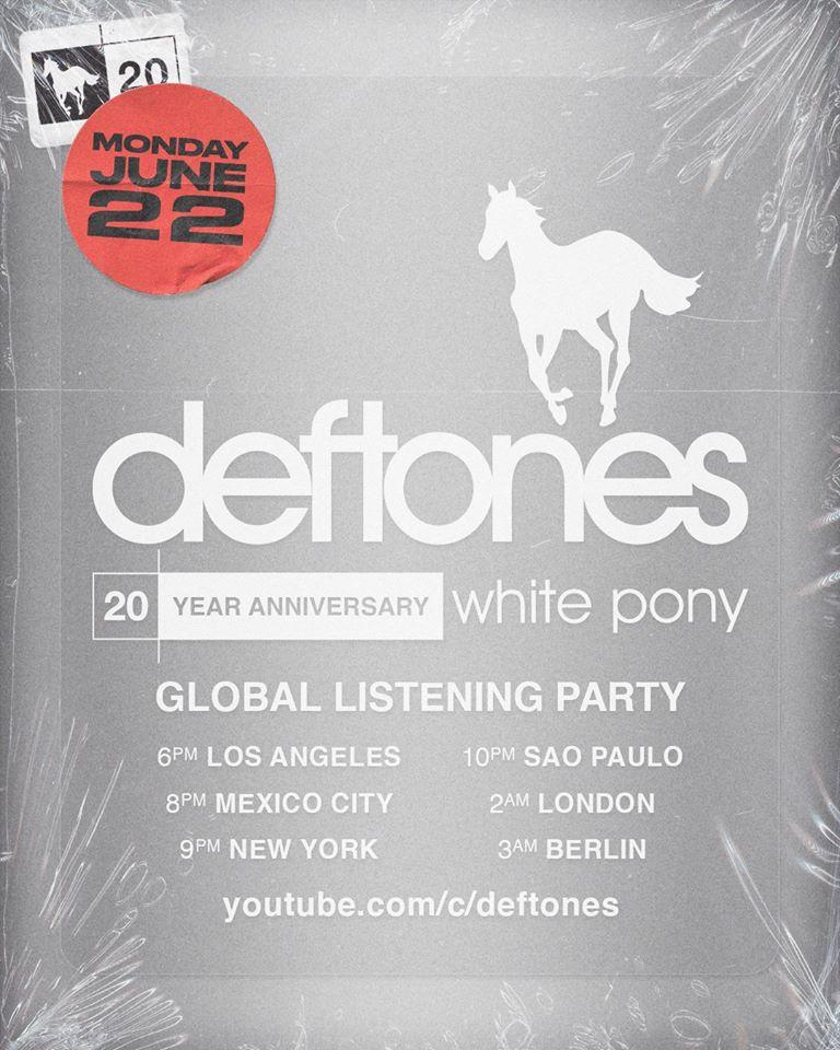 Anniversaire white pony