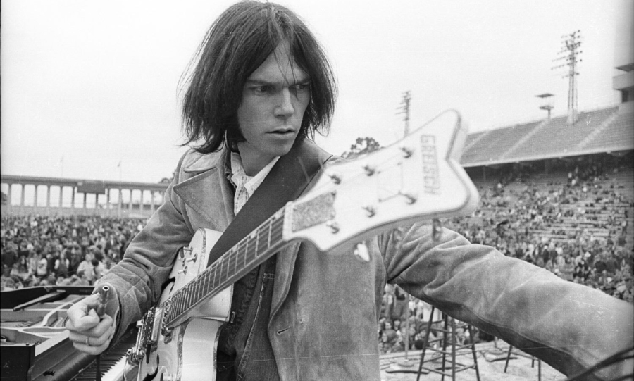 Neil Young 1975