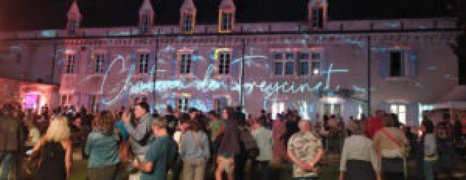 illuminations au château de Freycinet à Saulce dans la Drôme