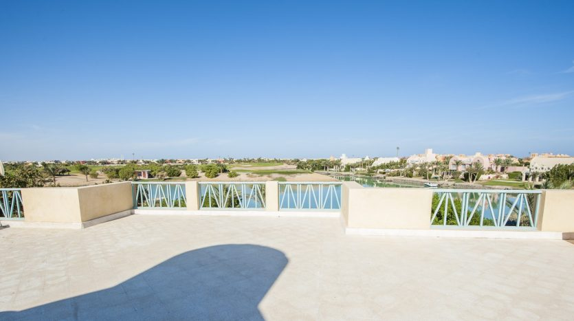 Villa in El Gouna with Roof Red Sea Golf Egypt