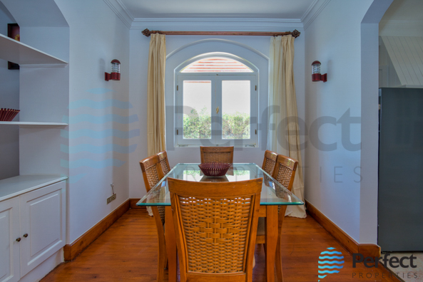 Dinning in Upper Nubia Villa for Sale in EL gouna