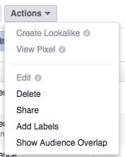Facebook overlap tool