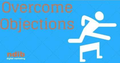 overcoming objections title image of person jumping over a hurdle