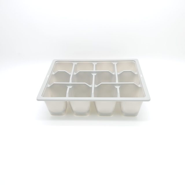 12x Cell Plant Tray - Gray