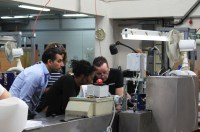 Galpeg Associates are given a tour of Senator's print facility