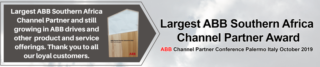 Largets ABB Channel Partner in Southern Africa