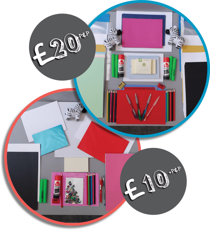 £10 & £20 Children's Stationery Package