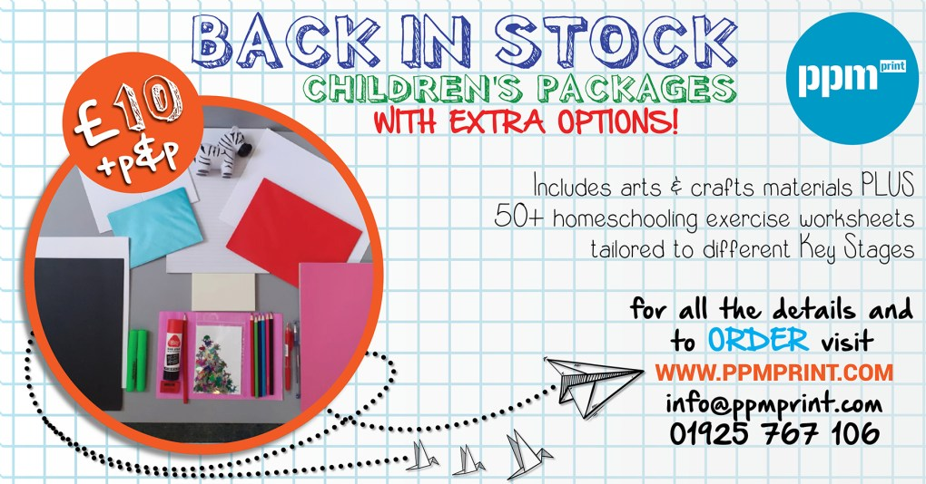Childrens Stationery Package KeyStage Options £10 web