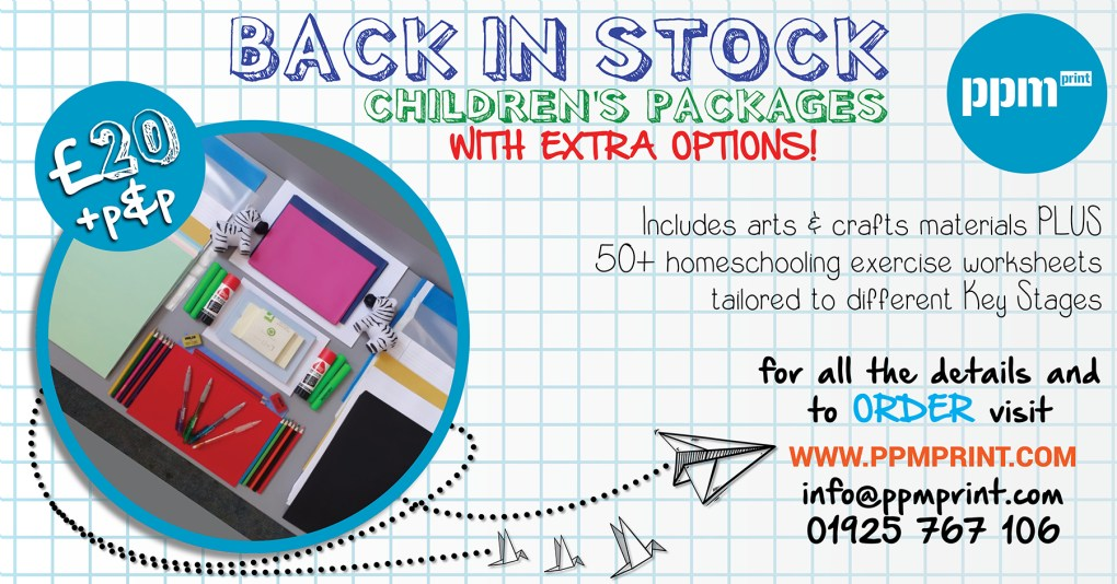 Childrens Stationery Package KeyStage Options £20 web