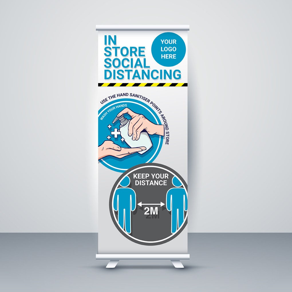 Roller Banners Covid-19