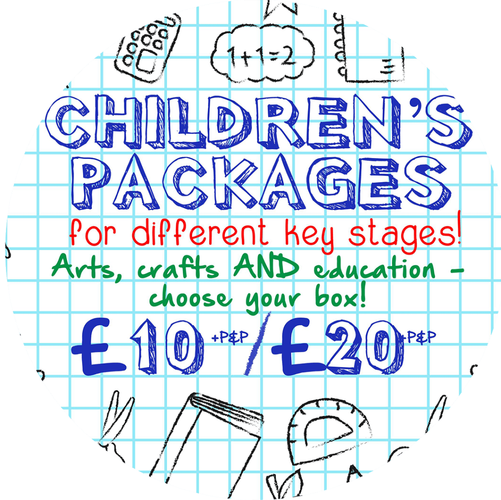 childrens sationery packages 10 20