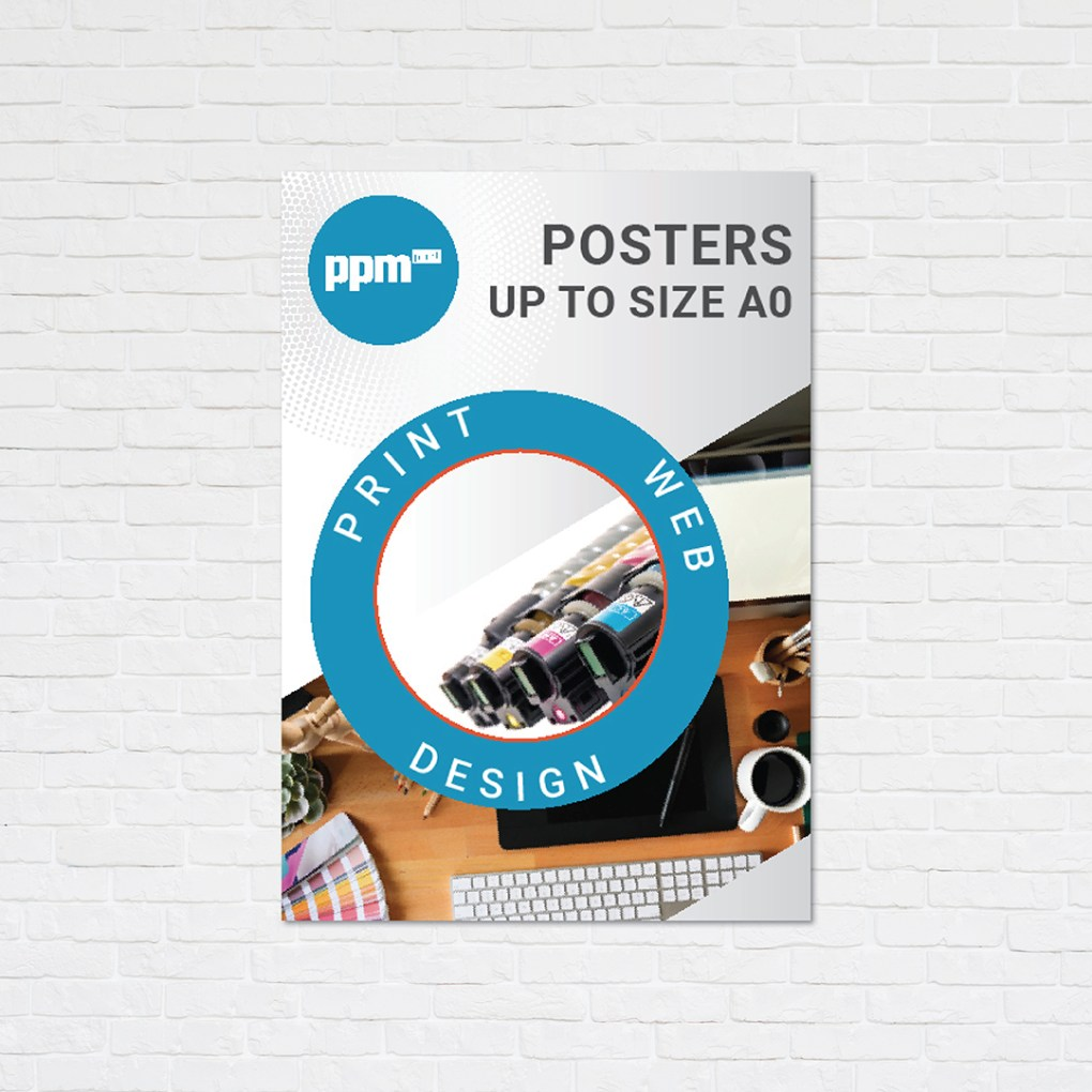 A4 to A0 Posters