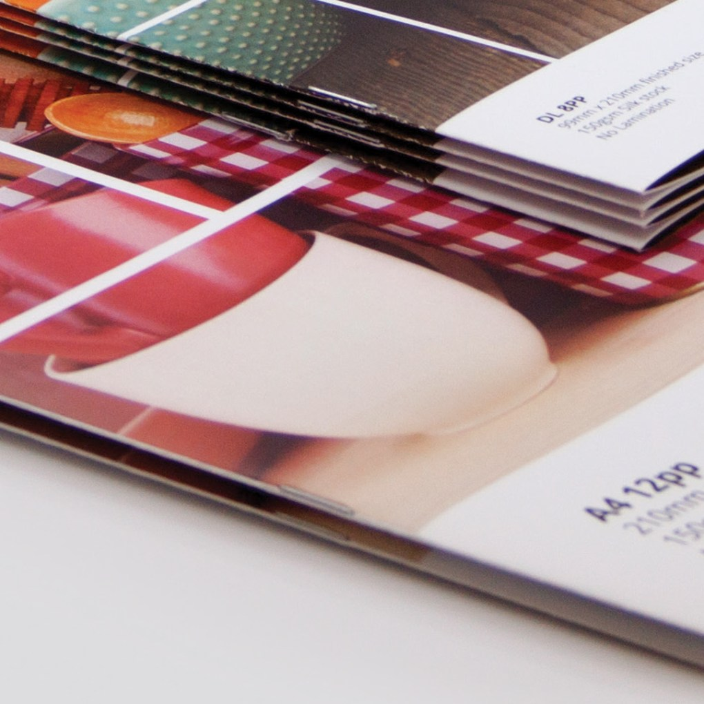 stapled booklets