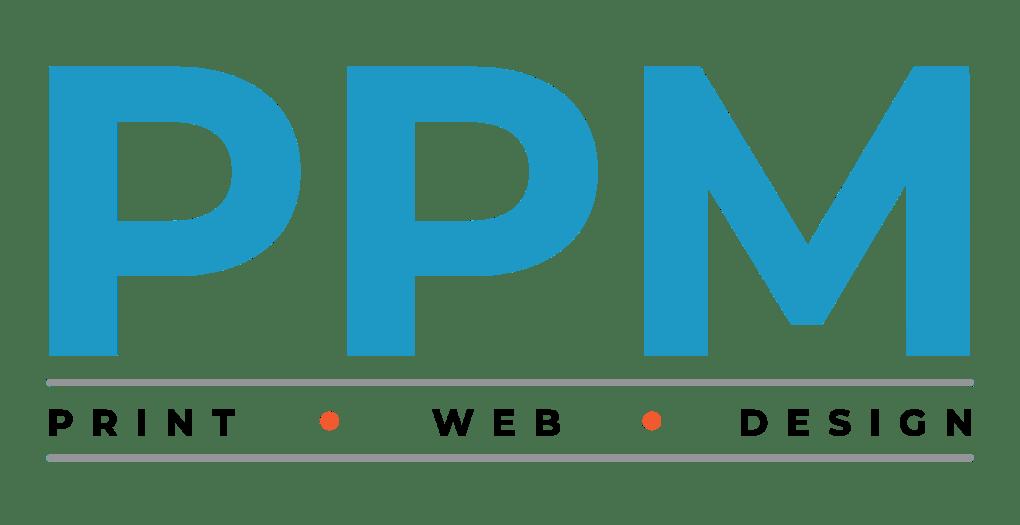 PPM Print Web Design Logo