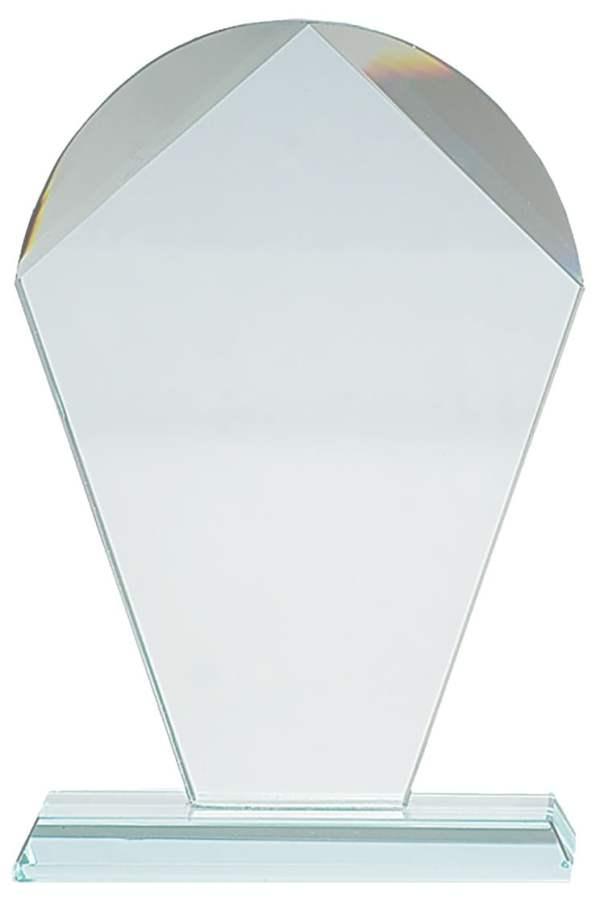 cr10A Transp - Plakett i krystall CR.10