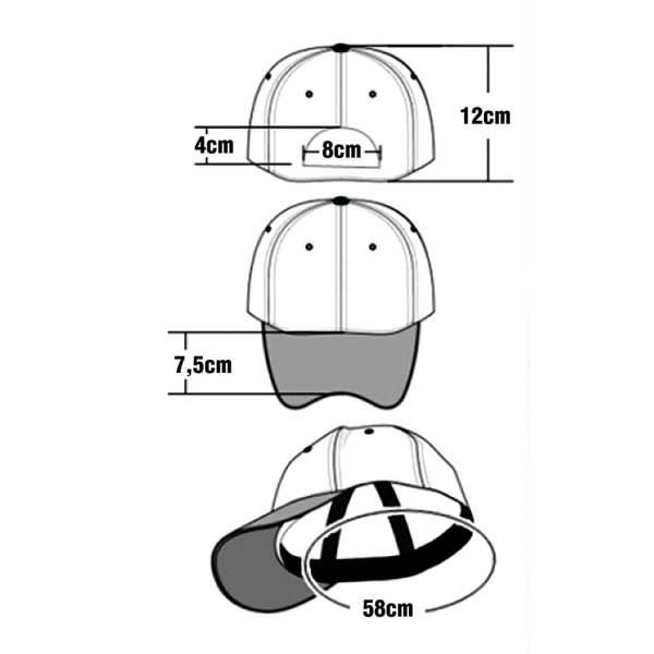 Caps med brodering 57