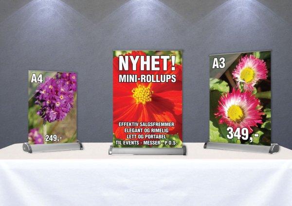 Rollup Kampanje Mini - Rollup A4