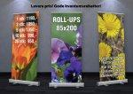 Rollup Kampanje Vaar2018 - Rollup med bag, 85x200cm