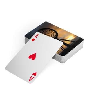 Spillekort Oppsett2 - Kortstokk med fargetrykk