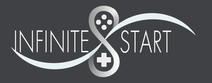 Infinite Start LOGO White