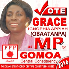 Gomoa Central ppp ignophia appiah