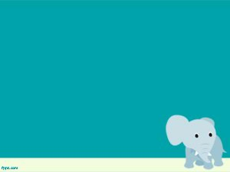 Elephant Powerpoint Template Ppt Template Slides Backgrounds For Powerpoint Templates Ppt Backgrounds