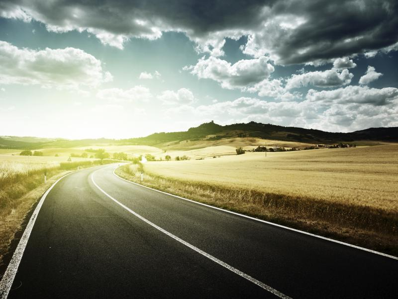 Road Picture Backgrounds For Powerpoint Templates Ppt