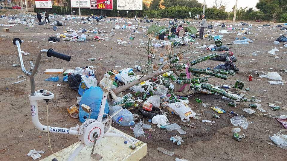 Els Populars exigixen neteja i reciclatge en el Festivern