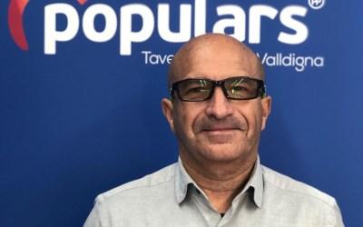 Domingo Pérez serà el primer resident de la platja de Tavernes que ocupe la Regidoria de Platges si governa Eva Palomares