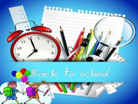 Back to Education School ppt template