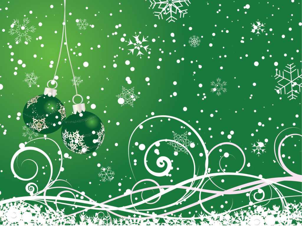 Floral Green Happy New Year For 2013 Backgrounds
