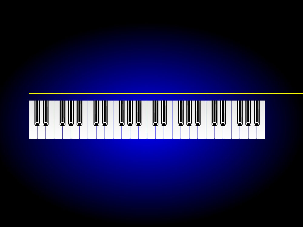 Music Piano Bar Backgrounds Music Templates Free PPT