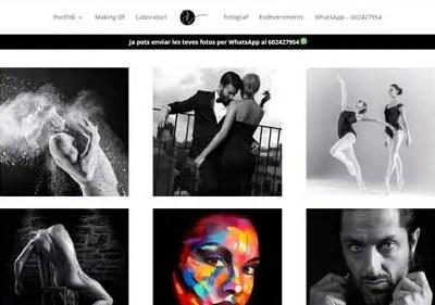 Diseño Web – Fotografia't | Pep Valls