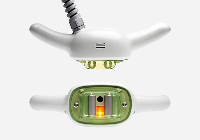 Endodermic massage handpiece