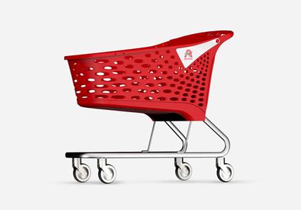 Supermarket cart design