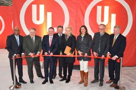 UL Brandprüflabor in Europa eröffnet