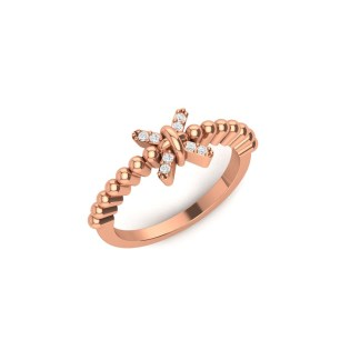 Sparkle Knot Ring