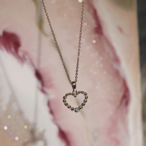 The Rose Gold Bubble Necklace