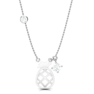 The Sour And Sweet Pineapple Necklace