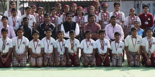 44 players brought laurels to the school as they got selected for the different state level tournaments.