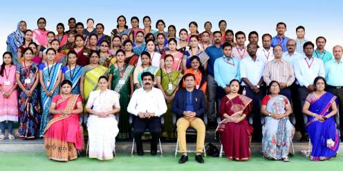 Capacity Building Programme on Classroom Management conducted under the guidance of CBSE, CoE, Pune.