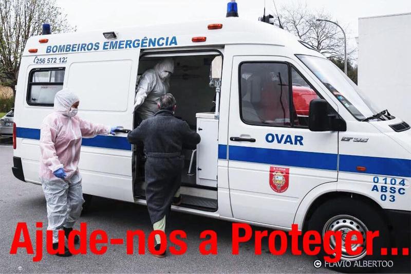"""Comandante dos BV de Ovar lança apelo: """"Não deixemos faltar equipamentos de proteção individual a estes Bravos Soldados"""""""