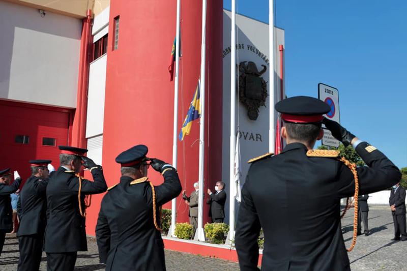 Bombeiros Voluntários de Ovar assinalaram o 124º aniversário