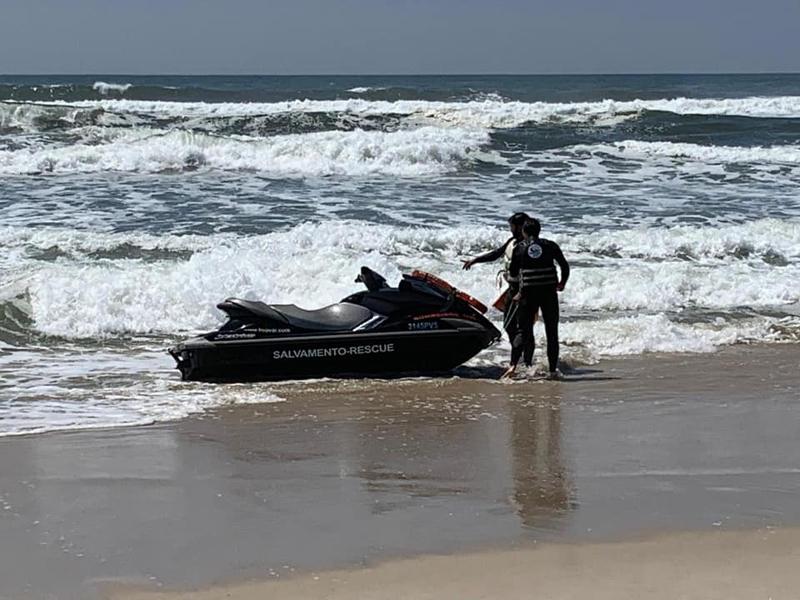 Bombeiros Voluntários de Ovar treinam prontidão de operação de socorro em meio aquático
